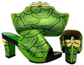 new design matching Italian shoes and bag set for nigeria party  MJT1-10