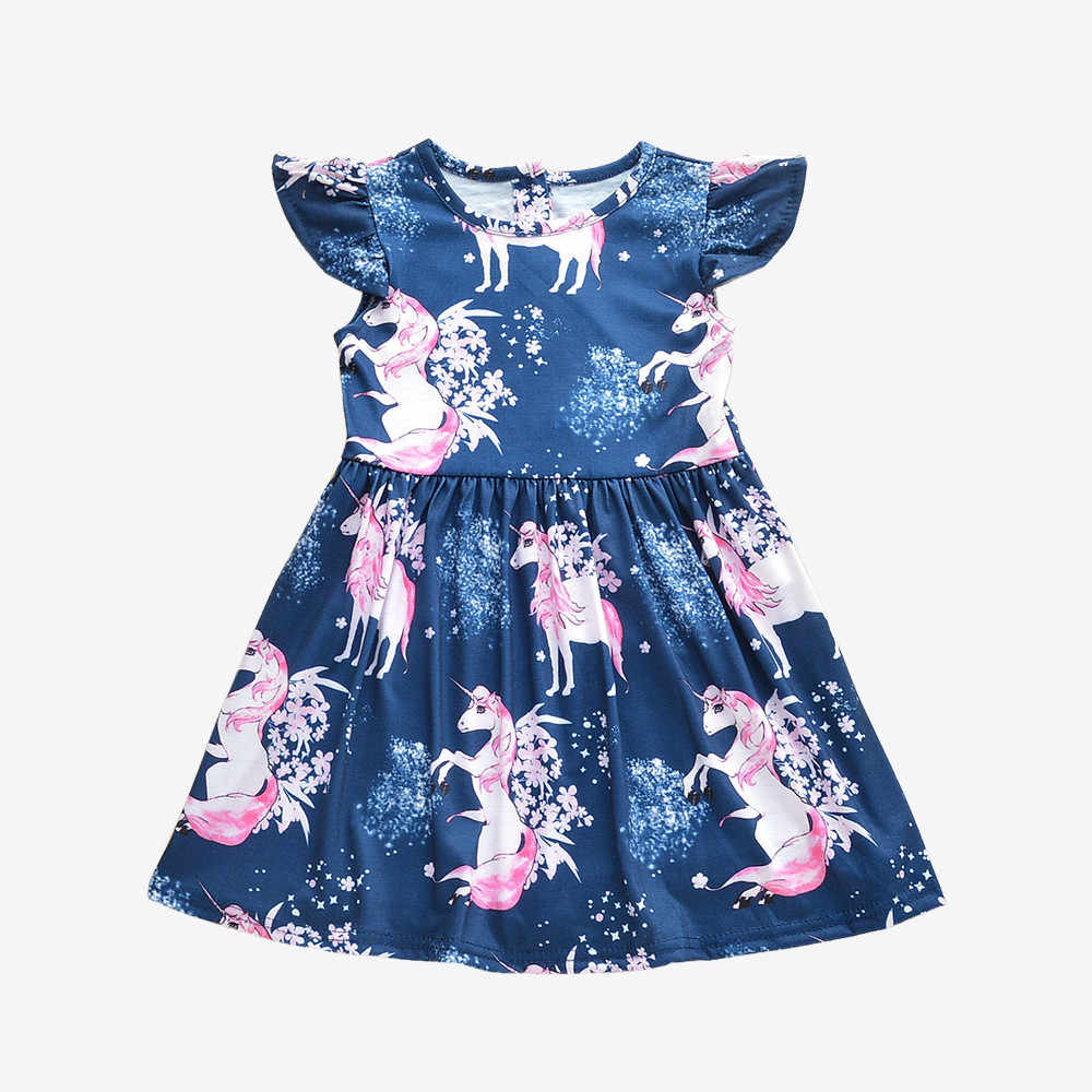 895c102e4935 Detail Feedback Questions about Baby Girls unicornl Dress 2018 New ...