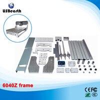 Mini Lathe Bed Frame CNC Router Machine DIY 6040 Aluminum Alloy Ball Screw No Tax To