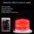 NOVO Estilo!!! recarregável Super Bright LED RGBW Sob Iluminação De Mesa para Casamentos Toalha De Mesa Do Partido Do Evento de Iluminação Com Controle Remoto