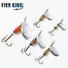 Mepps PEIXE REI 1 PC Size1-Size4 Pesca Gancho Mepps Rotadores Iscas De Pesca Com Faca-afiada Agudos Ganchos de Pesca Em Massa combater Pesca
