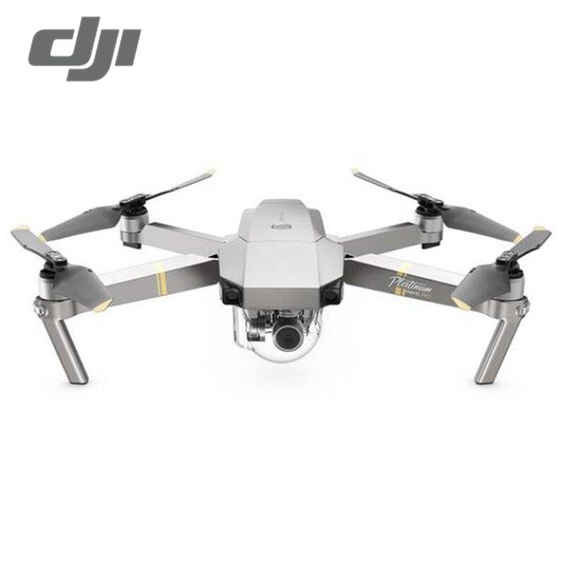 Dji Мавик Pro Platinum версия FPV-системы w/3 оси Gimbal 4 К Камера Шум падение Складная рукоятка RC Камера drone Quadcopter RTF VS Mavic