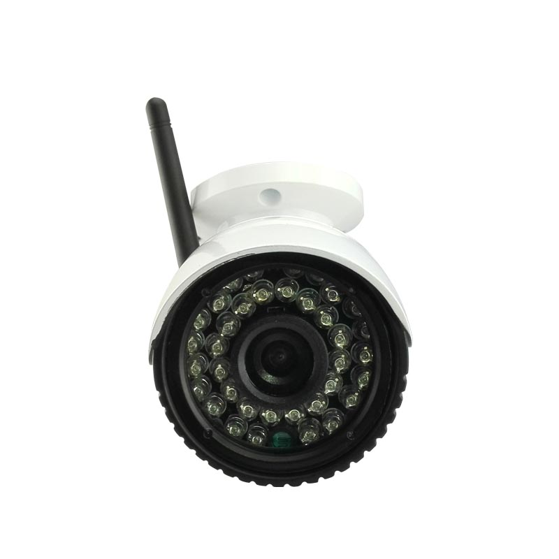 Camhi Card HD 960P LED white lights IR waterproof IP camera security network P2P onvif TF