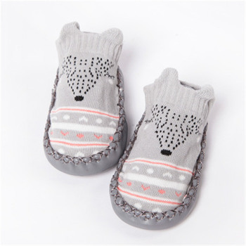 2019 Newborn Spring Autumn Winter Infant Funny Socks Anti Slip Baby Boy Socks With Rubber Soles Baby Girl Cute Socks 1