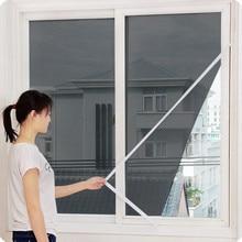 Новинка, крытая сетка от насекомых, москитная сетка для занавесок, москитная сетка для дверей, окон, противомоскитная сетка для кухонного окна, 611