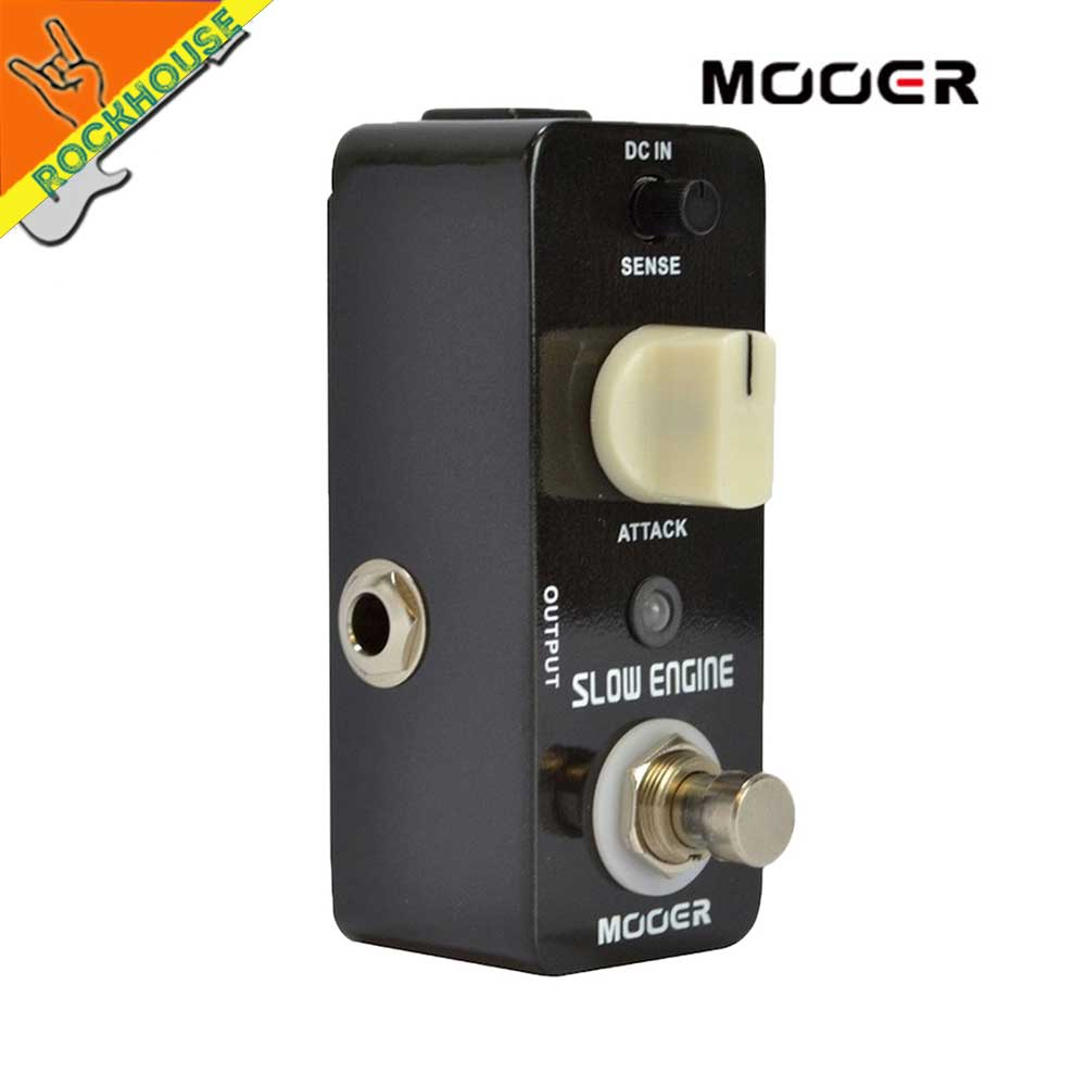 MOOER Slow Engine Volume Controller Guitar Effects Pedal Like a guitarist control the volume knob True Bypass Free Shipping mooer ensemble queen bass chorus effects effect pedal true bypass rate knob high quality components depth knob rich sound