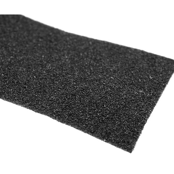 10 m Rotolo di Anti Slittamento del Nastro Adesivi per Le Scale Decking Strisce Per Scale Pavimento Del Bagno Autoadesivo (Nero)