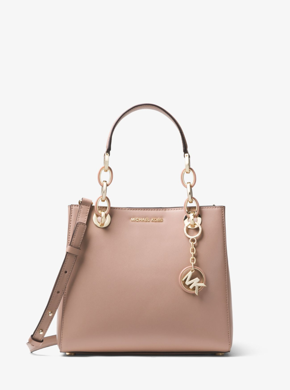 Michael Kors Cynthia Dressy Satchel Luxury Handbags For