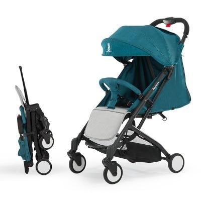 عربة طفل خفيفة الوزن قابلة للطي محمولة على عربة الأطفال