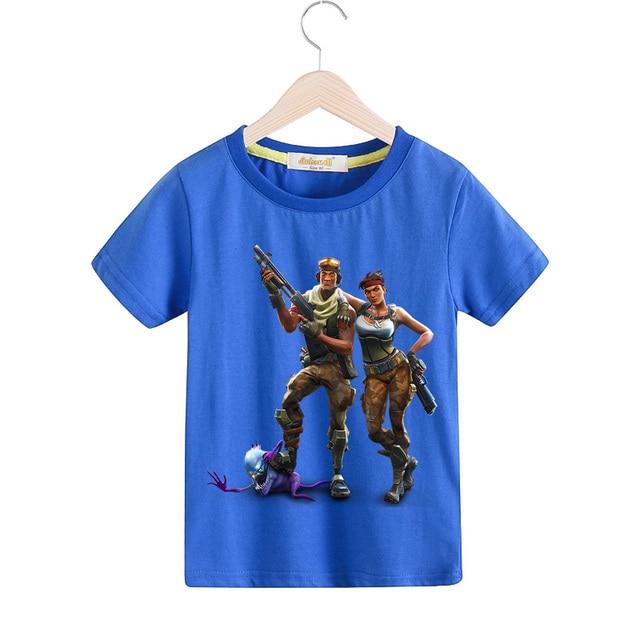 2a7f4cf58 2018 New Children Cartoon 3D Print T shirt For Boy SolidT Shirt ...