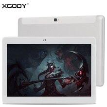 Original XGODY K108 Desbloquear 3G Llamada de Teléfono de 10.1 Pulgadas Tablet Android 5.1 MT6580 MTK Quad Core 1G + 16G 1280*800 IPS de 10 pulgadas Tablet