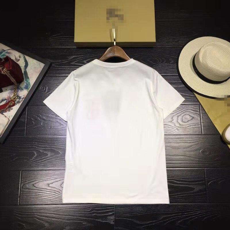 Célèbre Européenne T Luxe Bh02550 shirts Marque De Design Style Mode Femmes Femme Haut Pour amp; 2019 Piste Partie Vêtements qqwvPIOr