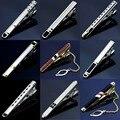 MMS 18 Estilos Dos Homens Formais Gravata Gravata Clipe Pin Skinny Brilhante fecho Bar Empate prendedores de Gravatas Finas Para Homens Ternos de Casamento Acessórios
