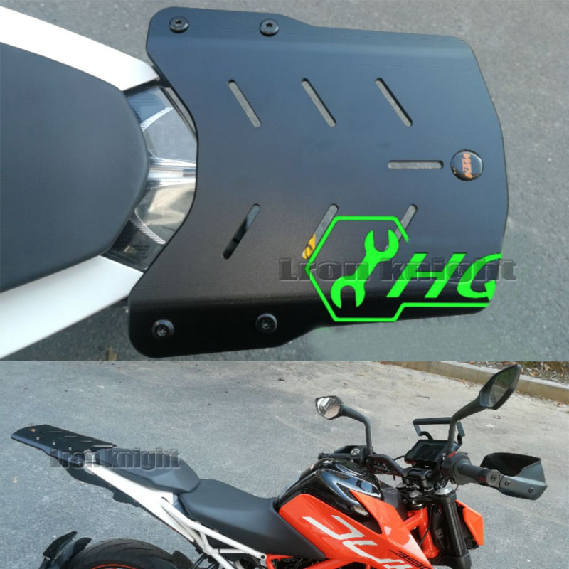 For KTM DUKE390 DUKE250 DUKE 390 250 2017 2018 Motorcycle Rear Bracket Carrier Tail Rear tailbox top box luggage rack bracket-in Covers & Ornamental Mouldings from Automobiles & Motorcycles