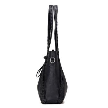 Soft Leather Large Shoulder Bag 3