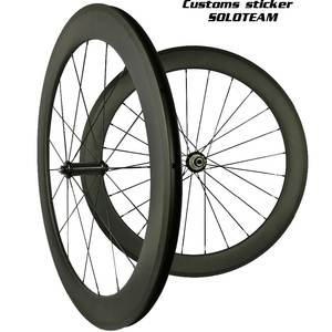 soloteam custom Sticker carbon wheels 38mm 45mm 50mm 60mm 88mm carbon bicycle wheels wide 23/25mm 700C road bike carbon wheelset