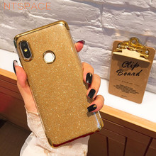 For Xiaomi Mi Mix 2s 8 SE 6X 5X A1 A2 Plating Glitter Bling Silicone Phone Case For Redmi 4X 5 Plus 6 6A 5A S2 Note 4 4X 5 6 Pro