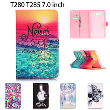 For Samsung Tab a6 7.0 2016 Case For Samsung Galaxy Tab A 7.0 T280 T285 SM-T280 SM-T285 Cases Cover Tablet Fashion Funda Shell