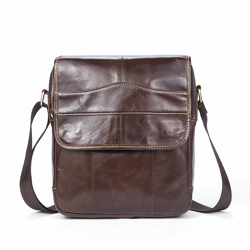 NEW Business shoulder bag Genuine Leather Messenger Small square bags Natural cowhide handbags high quality Crossbody Travel bag bag female new genuine leather handbags first layer of leather shoulder bag korean zipper small square bag mobile messenger bags