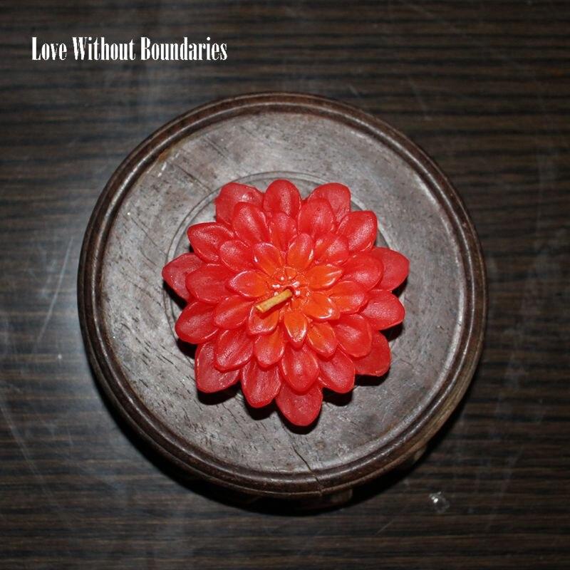 Quente e romântico vela, velas de Iluminação de Vela Rosa ou - Para feriados e festas
