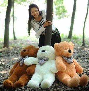 Milad hədiyyəsi 80cm ölçülü Teddy bear peluş oyuncaq 80cm ad günü hədiyyəsi təmtəraqlı oyuncaq yenilənməsi