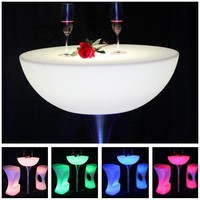 Home Garden Outdoor LED Bar Tables Fashion LED Decoration Iluminouse Waterproof Table Lighting SK LF20 D91