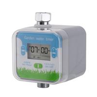 Automatic Electronic Water Timer Digital LCD Display Garden Watering Timer Irrigation Controller System Greenhouse Watering Kit