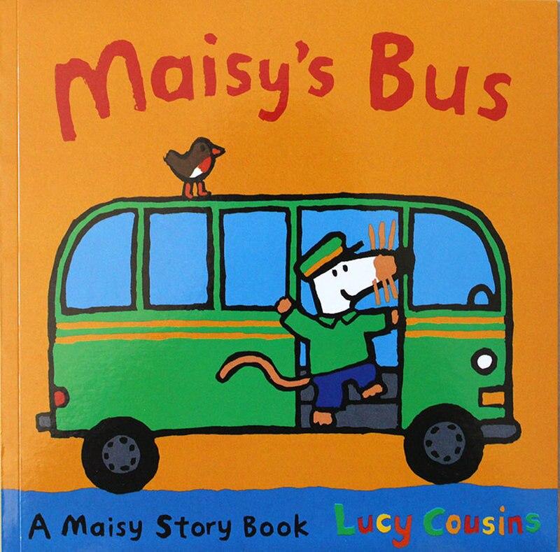12 livres/Set Maisy Sac De Natation Vague Souris Souris Anglais Livre D'images Livre D'histoire Pour Enfants Sticker Book Enfants Jeux IQ EQ Formation - 2