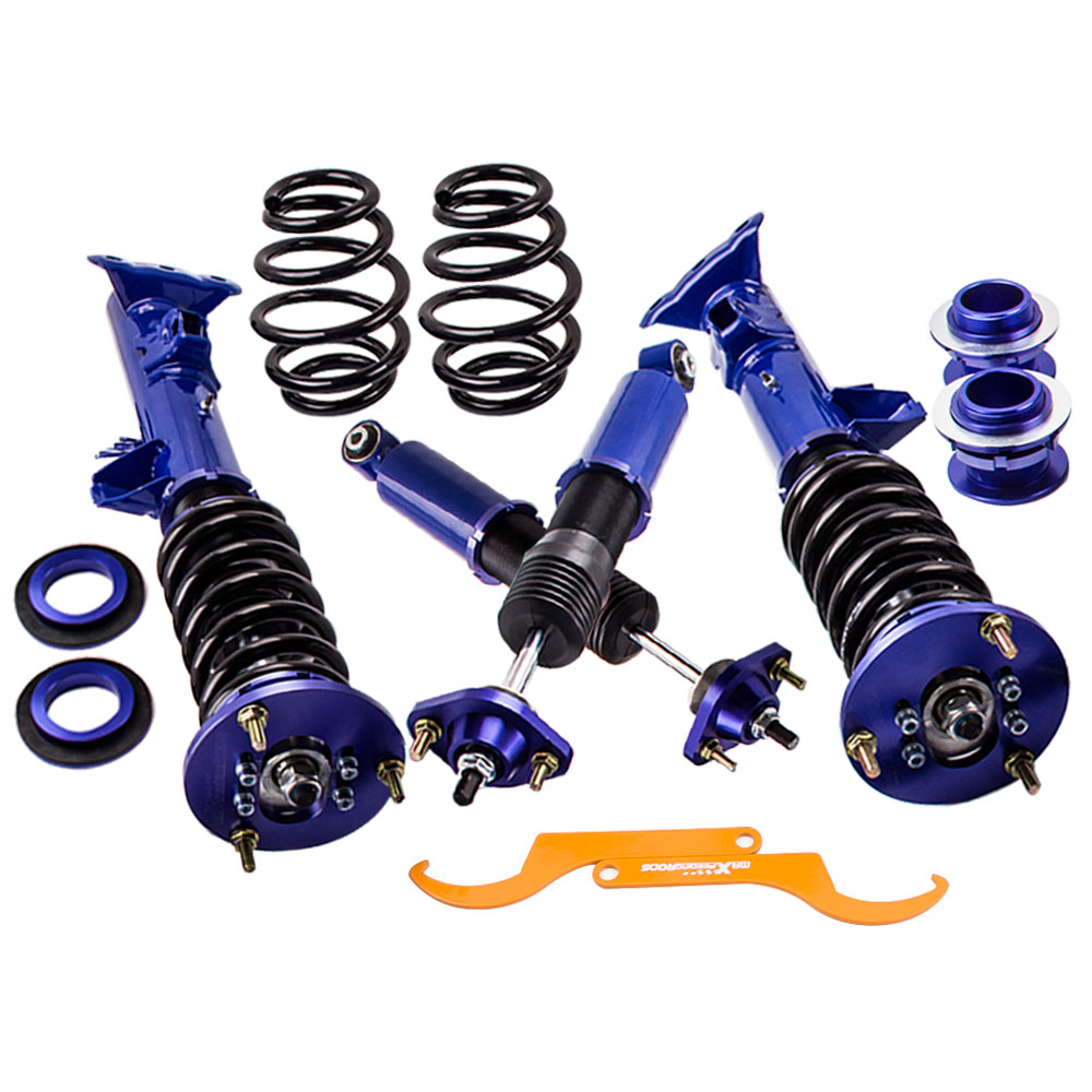 Full Coilover Suspension For BMW 3 Series E36 Coupe Sedan Hatchback Coil Strut 1998 318is 325i 323i  316Full Coilover Suspension For BMW 3 Series E36 Coupe Sedan Hatchback Coil Strut 1998 318is 325i 323i  316