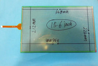 Original 15 6 Inch Touch Screen Digitizer 348mmx224mm 8 Wire Resistive Of 077A5 1599A 1 Touch