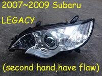 2007 ~ 2009, seconhand, имеют дефекты, унаследованные фары, Tribeca, baja, brz, impreza, justy, WRX, Loyale, XV crosstrek; Legacy Головной фонарь