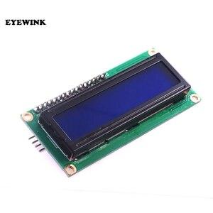 Image 2 - 10 adet LCD1602 + I2C LCD 1602 modülü mavi/sarı yeşil ekran IIC/I2C LCD1602 IIC LCD1602 adaptör plakası