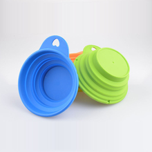 Light Portable Pet Travel Retractable Bowl and Feeder 240ML