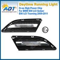 LED Car Daytime Running Light 12W Cr Ee High Power 6000K 1320lm Headlights DRL For BMW