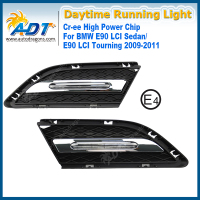 LED Car Daytime Running Light 12W Cr Ee High Power 6000K 1320lm Headlights DRL For BMW