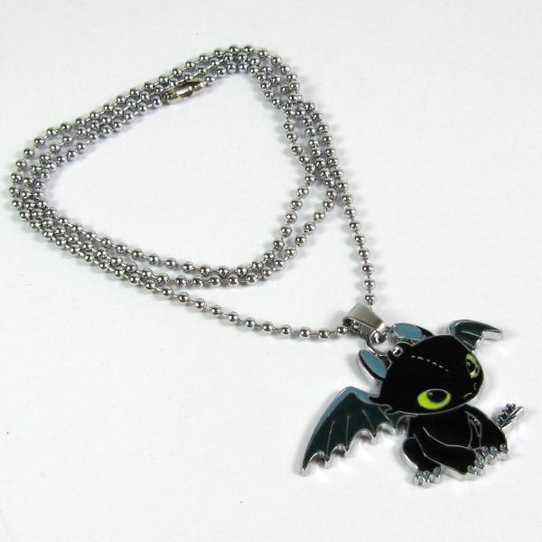 Брелок с карабином и кулон Беззубик Как приручить дракона 2