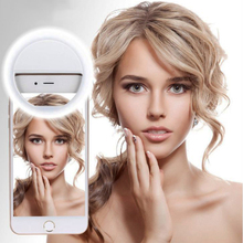 Universal LED Flash Selfie Ring Light Clip Lamp For iPhone ipad For Xiaomi For Samsung Android Phone