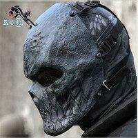 4 Estilo Original Typhon Ghost Camuflaje Táctico Militar Al Aire Libre Paintball Airsoft Balaclava Skull Full Face Protect Mask