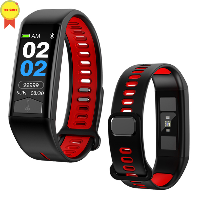 2019 first ECG smart band Body Temperature Heart Rate Monitor IP68 Waterproof Activity Weather Health detect Smart wrist Band2019 first ECG smart band Body Temperature Heart Rate Monitor IP68 Waterproof Activity Weather Health detect Smart wrist Band