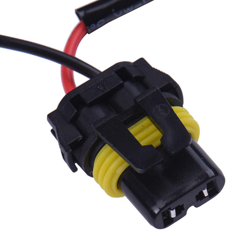 1pc universal car xenon hid wire assembly h4 9003 relay harness extension wiring kit socket plug  [ 1000 x 1000 Pixel ]