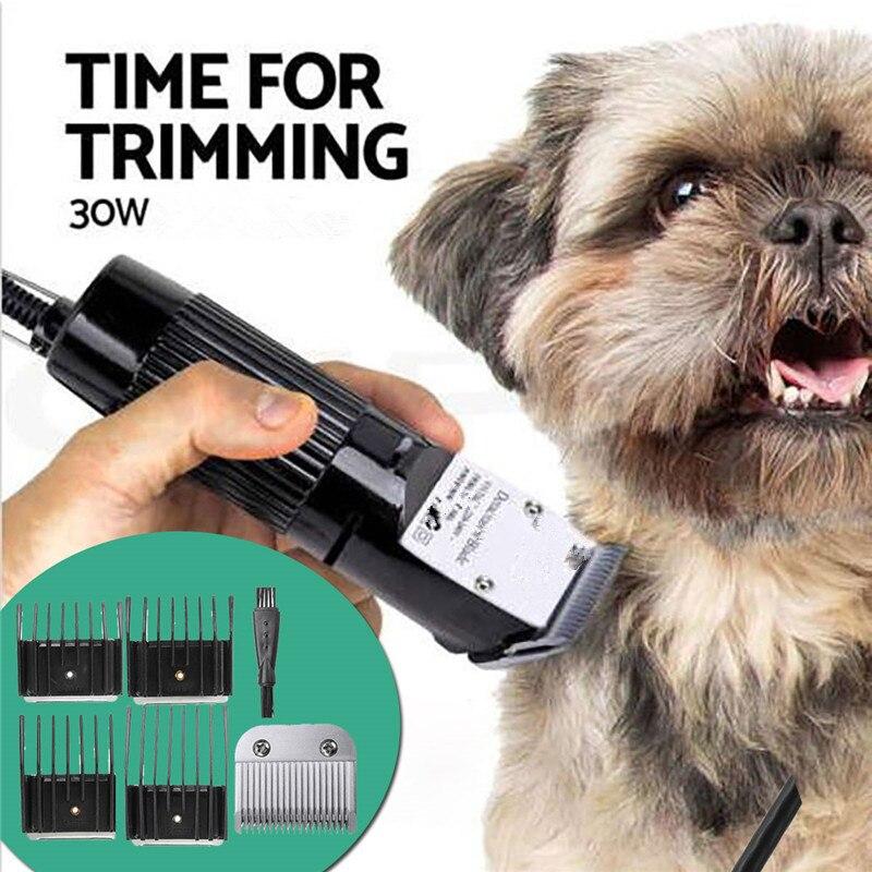 Machine de coupe de cheveux électrique professionnelle pour tondeuse pour animaux de compagnie tondeuse à cheveux 30W pour chien Machine à raser les animaux électrique