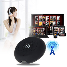 Nueva Llegada Inalámbrica Bluetooth Audio Música Transmisor Estéreo Adaptador Dongle Para Smart TV PC DVD MP3 H-366T Bluetooth 4.0 A2DP