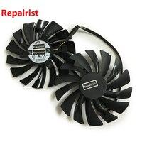 2pcs Lot Computer Radiator VGA Cooler Fan For MSI Gtx 960 950 GTX950 GTX960 GAMING Video