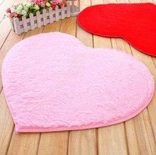 Velvet Love Carpets for Living Room Bedroom Doormat Floor Mat Solid Tapetes 50*60cm 7Colors