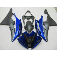 Injection mold motorcycle fairing kit For YAMAHA YZF R6 2008 2009 2014 YZFR6 08 14 matte black blue custom fairings set JL28