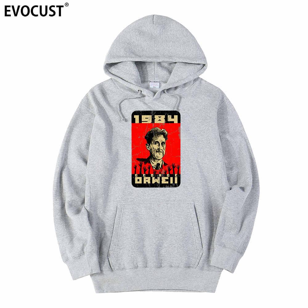 Big brother vous regarde George orwell hommes sweats capuches femmes unisexe coton peigné