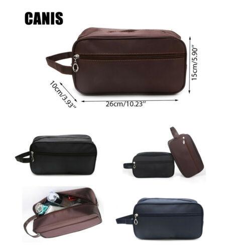 US Men Women Travel Portable Toiletry Bag Wash Shower Cosmetic Makeup Organizer