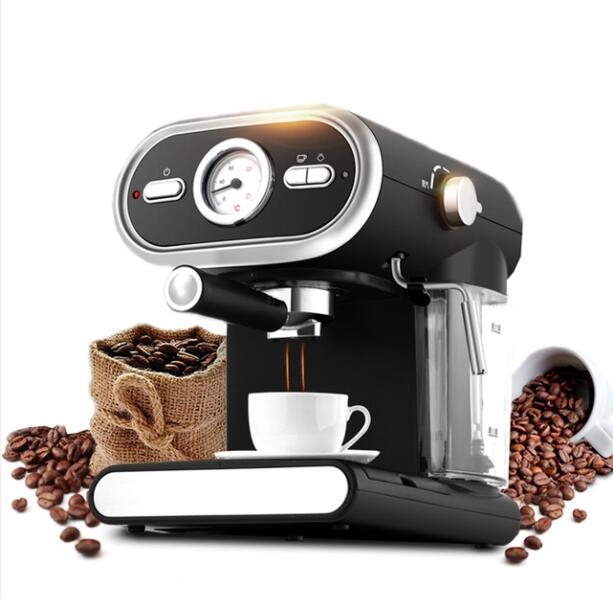 Espresso Coffee Machine Semi-automatic Coffee Maker Cappuccino Moka Milk Frother Foamer High-pressure 20BAR professional ce stainless steel electric espresso coffee maker semi automatic 5 10 cups italian coffee machine with milk frother