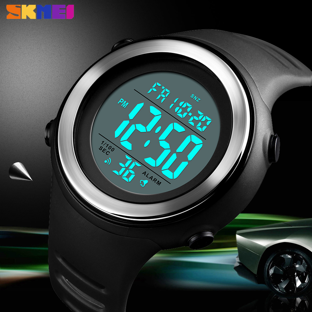 <font><b>SKMEI</b></font> New Military Sports Mens Watch Fashion Outdoor Digital Chrono Waterproof Clock Countdowns Wristwatch Relogio Masculino image
