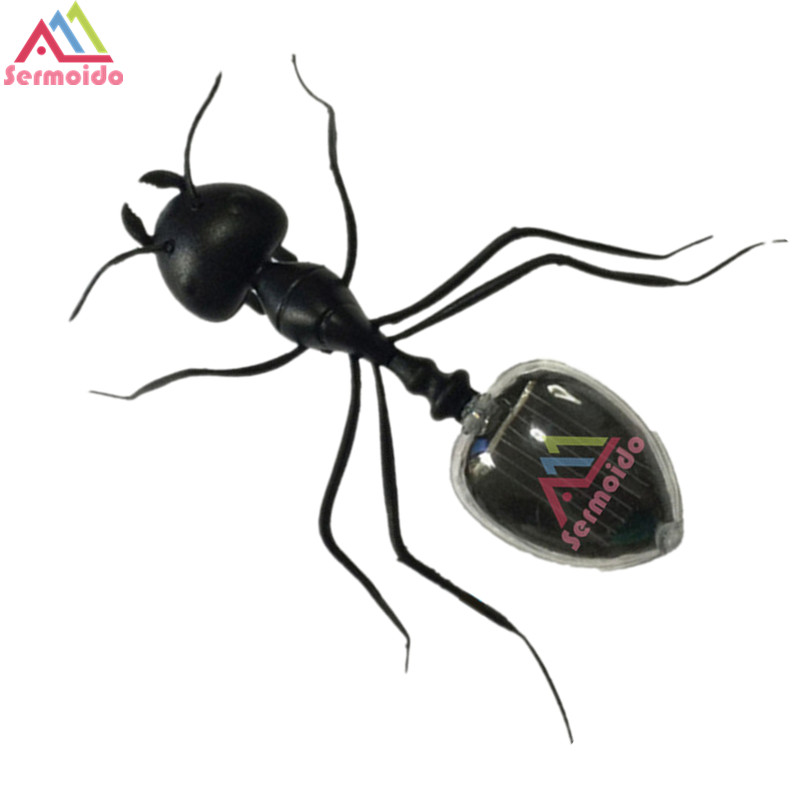 sermoido 1Pc Electronic Pets Emmet Trick-Playing Toy Electric Simulation Insect Ants Crawl Vibration Toys B213